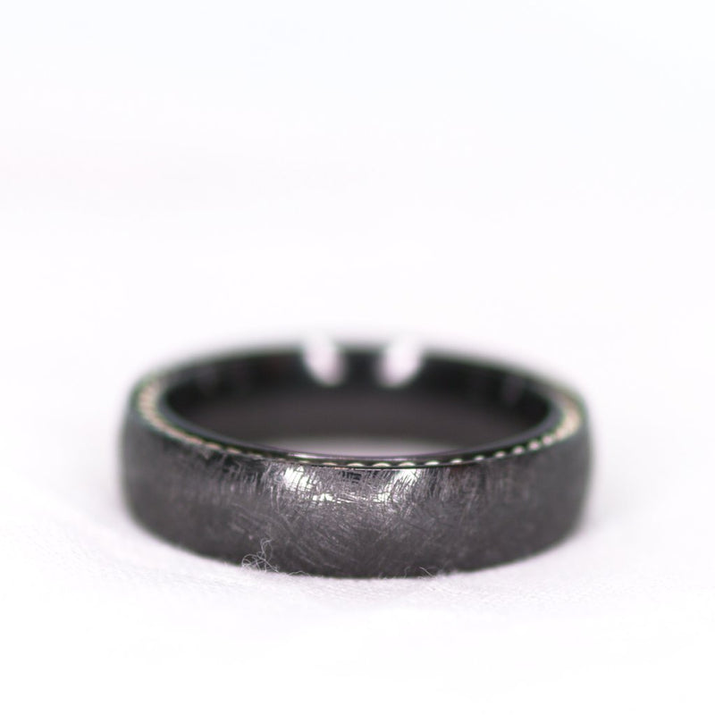 *In Stock!* Black Zirconium Band