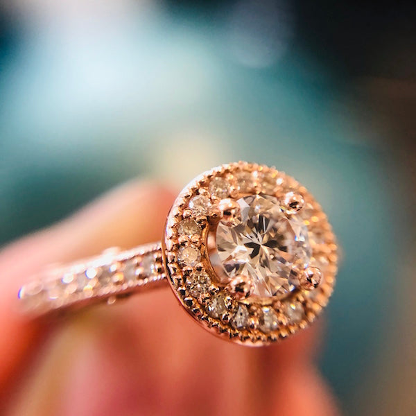 *In Stock* *Pre-owned* Verona diamond engagement ring