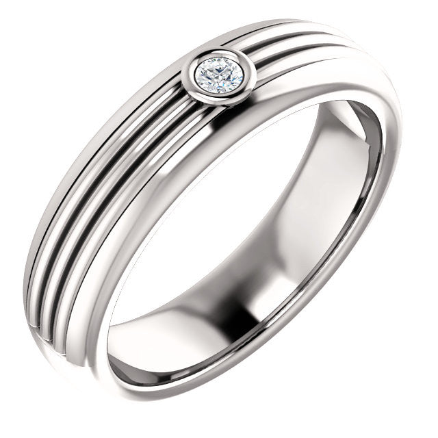 Men's Diamond Band