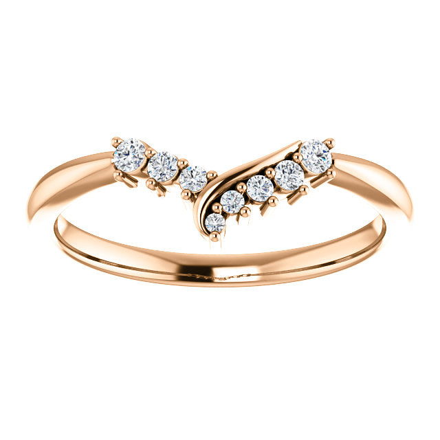 *In Stock!* Vera Contoured Diamond Band