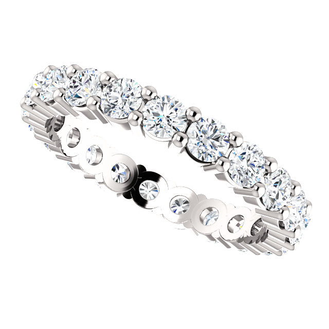 Abigail Eternity Band - Extra Chunky (2 Carats, 3mm)