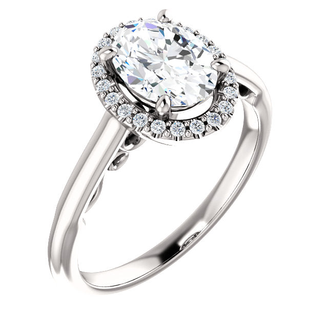 Lilah Diamond Engagement Ring