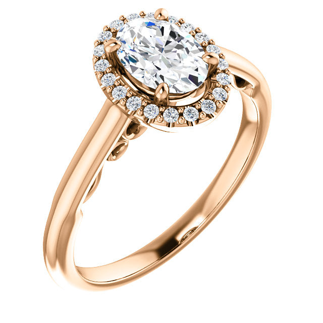 Lilah Moissanite Engagement Ring