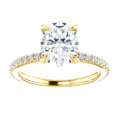 Danielle Moissanite Engagement Ring