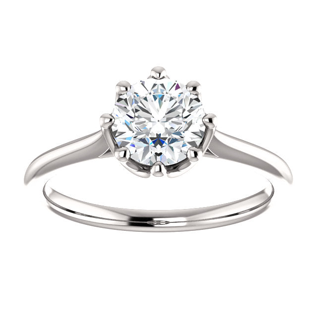 Liv Moissanite Engagement Ring