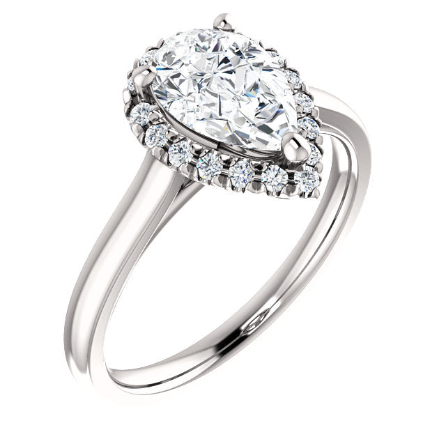 Frances Diamond Engagement Ring