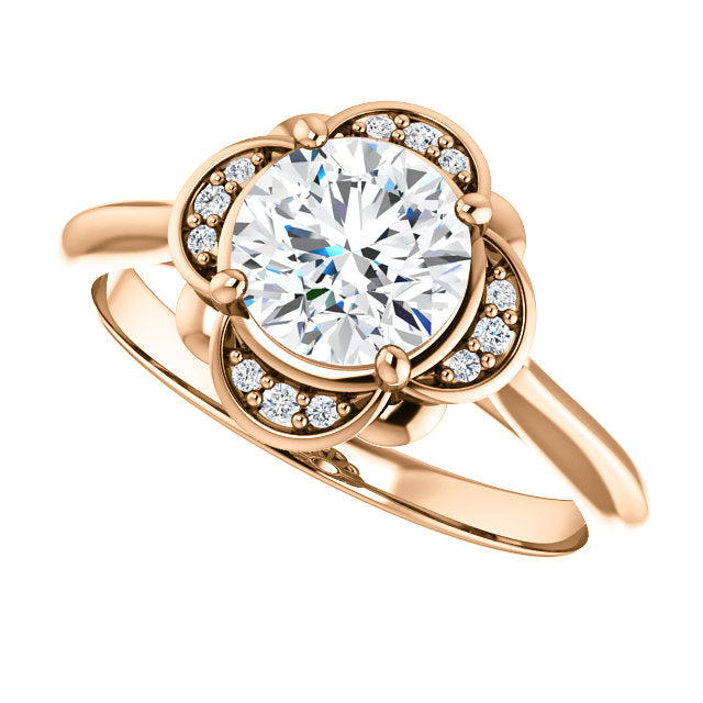 Claire Diamond Engagement Ring