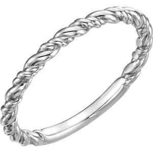 *In Stock* Double Twist Rope Band