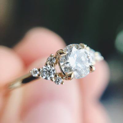 *In Stock* Bree 0.57ct Diamond Engagement Ring