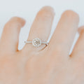 *In Stock!* Lisa 0.33 carat Diamond Engagement Ring