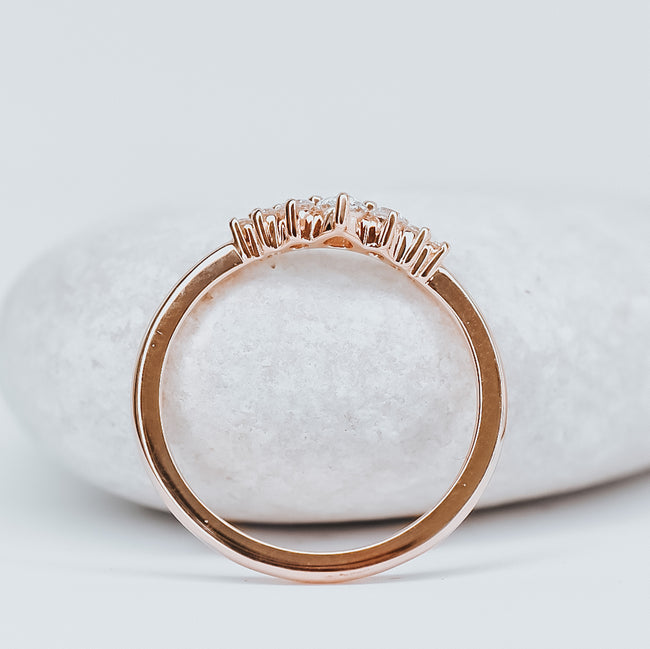 *In Stock* Selena Contour Band (Rose Gold)