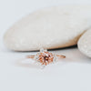 *In Production* Gwen Rosé Sapphire Engagement Ring (Rose gold)