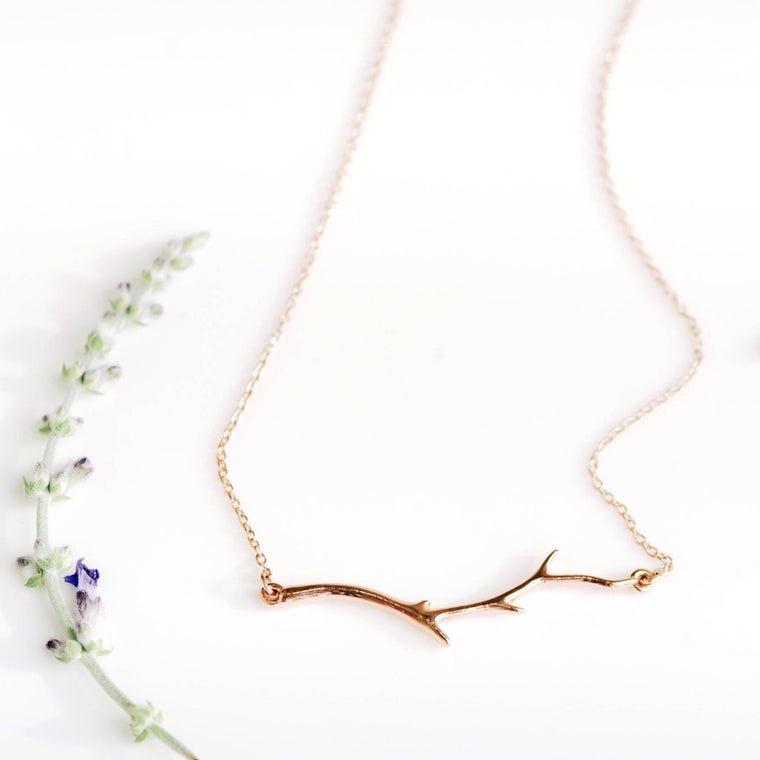 *In Stock!* Nature Inspired Branch Necklace