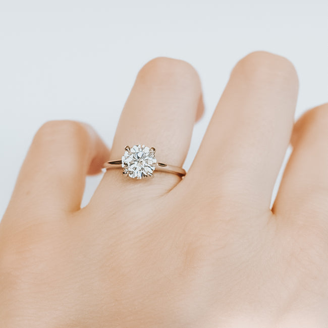 *In Production* Brittany 1.50 carat Moissanite Engagement Ring