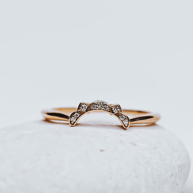 *In Stock* Esther Matching Wedding Band
