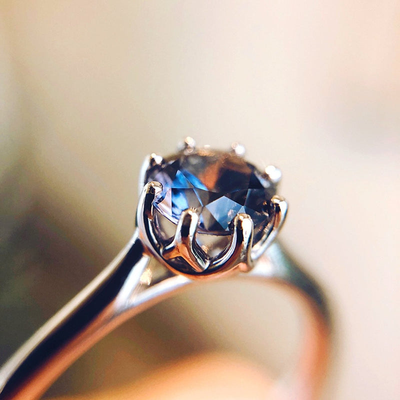 *In Stock!* Liv Montana Sapphire Engagement Ring