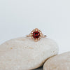 *In Stock* Bella Ruby Engagement Ring