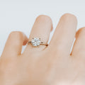 Brittany Moissanite Engagement Ring