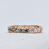*In Stock* Abigail Eternity Diamond and Montana Sapphire Band