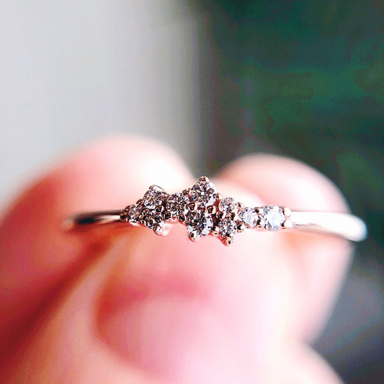*In Stock!* Stella Multi Stone Diamond Ring