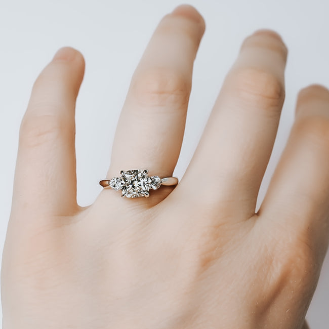 Holly Moissanite Engagement Ring