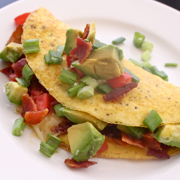 Bacon CA Omelette