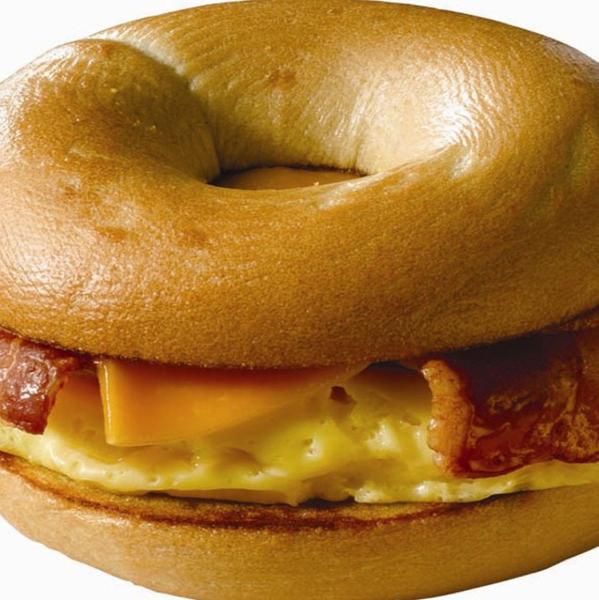 Bacon & Cheese Bagel