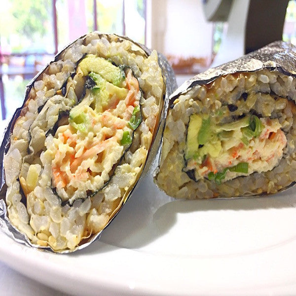 California Sushi Burrito. At KopëPot, we make it easy to order. Try our food delivery service today! Food delivered in Sunnyvale, Mountain View, Palo Alto, Milpitas, Stanford, San Jose and more