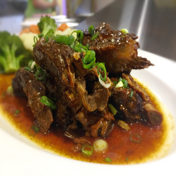 Caramelized Spare Ribs. At KopëPot, we make it easy to order. Try our food delivery service today! Food delivered in Sunnyvale, Mountain View, Palo Alto, Milpitas, Stanford, San Jose and more