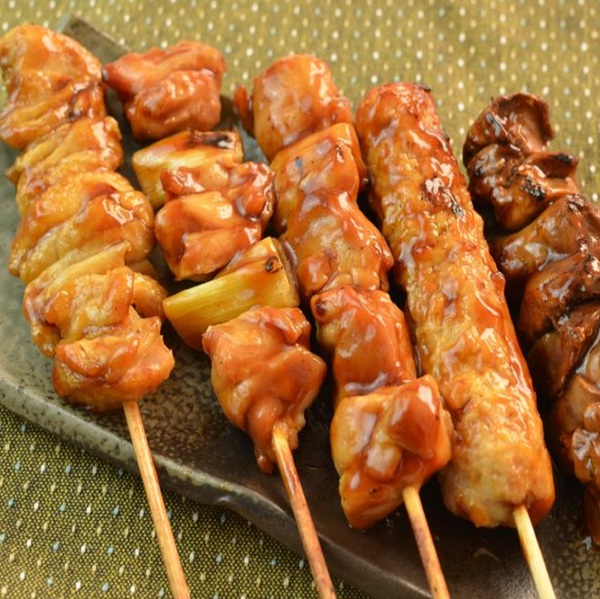 Chicken or Beef Skewers