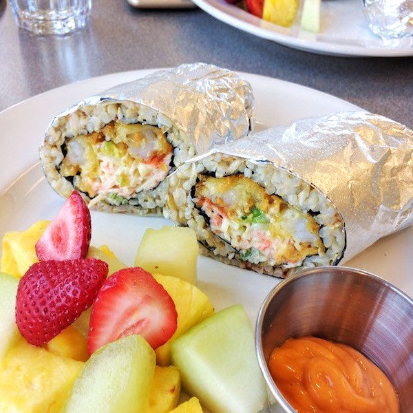 KopëPot Crunchy Sushi Burrito. At KopëPot, we make it easy to order. Try our food delivery service today! Food delivered in Sunnyvale, Mountain View, Palo Alto, Milpitas, Stanford, San Jose and more