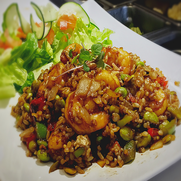 Totality Shrimp Fried Rice. At KopëPot, we make it easy to order. Try our food delivery service today! Food delivered in Sunnyvale, Mountain View, Palo Alto, Milpitas, Stanford, San Jose and more