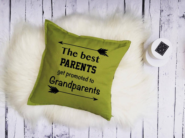 "Cushions ""BEST PARENTS- GRANDPARENTS""-Cushions-EnryPrint.com"