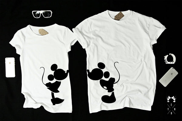 "T-shirts for couple ""MICKEY""-T-Shirts-EnryPrint.com"