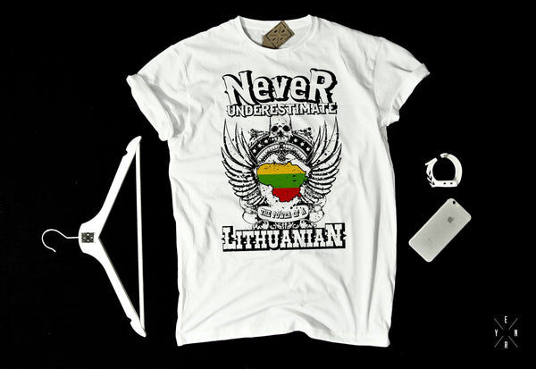 "T-shirts ""Lithuanian men""-T-Shirts-EnryPrint.com"