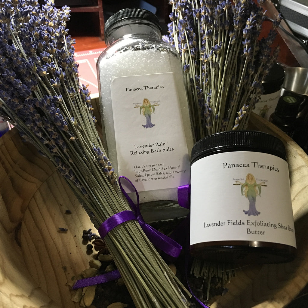 Lavender Fields Bath Set