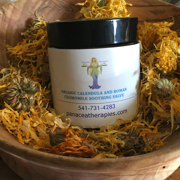 Calendula and Roman Chamomile Salve