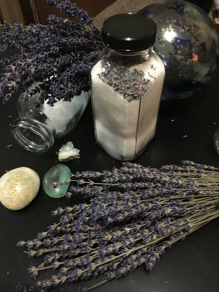 Lavender Rain Relaxing Bath Salts