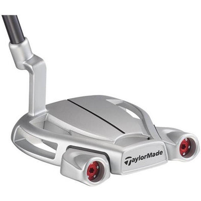 Taylormade Spider Tour Diamond Silver L neck Sølv