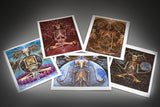 5 Pack Element Art Prints