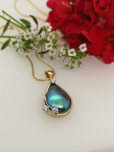 Sleek TearDrop Pendant