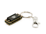 4-hole Mini harmonica Keychains - SOUND SMITH  Harmonica - Guitar Capo Harmonica - Guitar picks