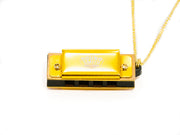 Sound Smith 4-hole Mini Harmonica Necklaces - Key C - SOUND SMITH  Harmonica - Guitar Capo Harmonica - Guitar picks