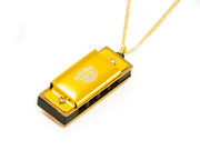 4-hole Mini Harmonica Necklaces - SOUND SMITH  Harmonica - Guitar Capo Harmonica - Guitar picks