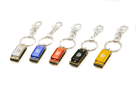 Sound Smith 4-hole Mini harmonica Keychains - Key of C - SOUND SMITH  Harmonica - Guitar Capo Harmonica - Guitar picks
