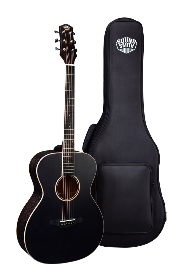 Pre-Order Now! Sound Smith OM Acoustic-Electric Guitar - Memphis Black