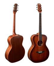 Pre Order Now! Solidbody Mahogany Acoustic-Electric Guitar M01-OM