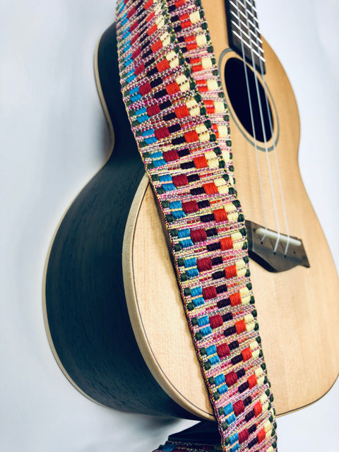 Sound Smith Jacquard woven Ukulele Strap - SOUND SMITH  Ukulele Straps - Guitar Capo Ukulele Straps - Guitar picks
