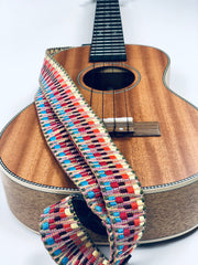 Sound Smith Jacquard woven Ukulele Strap - SOUND SMITH  Ukulele Straps - Guitar Capo Ukulele Straps - ukulele straps - ukulele accessories