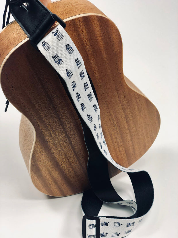 Sound Smith Chord Chart Ukulele Strap - SOUND SMITH  Ukulele Straps - Guitar Capo Ukulele Straps - Ukulele accessories